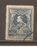 Tailandia (Siam) Nº Yvert  175 (usado) (o) - Siam