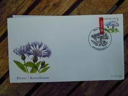 OCB Nr 3548 Buzin Bleuet Korenbloem   Flora Flower Bloem   ( Class Gris Box ) Stempel Marcinelle - FDC