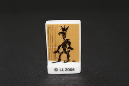 Fève De La Série LUCKY LUKE FÊTE LES ROIS ( La Mie Câline ) - Lucky Luke - 2006 - (Réf. 009) - Strips