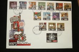 Malte EPJ Série N°459/473 Dont 2£ Rare Oblitérés 31/03/1973 - Malte