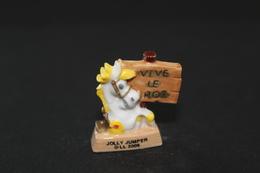 Fève De La Série LUCKY LUKE FÊTE LES ROIS ( La Mie Câline ) - Jolly Jumper - 2006 - (Réf. 009) - Strips