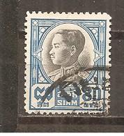 Tailandia (Siam) Nº Yvert  199A (usado) (o) - Siam