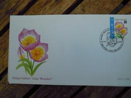 OCB Nr 3872 Buzin  Tulp Tulipa    Flora Flower Bloem   ( Class Gris Box ) Stempel Brussel - Bruxelles - FDC