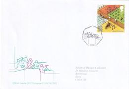 United Kingdom 2011 Cover: Olympic Games London 2012; Modern Pentathlon - Summer 2012: London