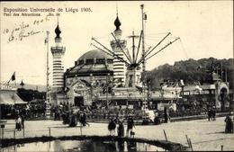 Cp Liège Lüttich Wallonien, Exposition Universelle 1905, Parc Des Attractions - Autres