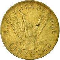 Monnaie, Chile, 10 Pesos, 1989, Santiago, TTB, Aluminum-Bronze, KM:218.2 - Chile