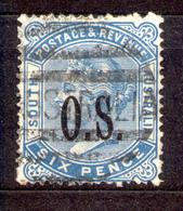 South Australia - Südaustralien 1891 - Michel Nr. Dienst 27 O - 1855-1912 South Australia