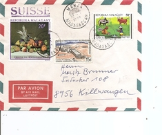 Madagascar ( Lettre Par Avion De 1972 De Manja Vers L'Allemagne à Voir) - Madagascar (1960-...)