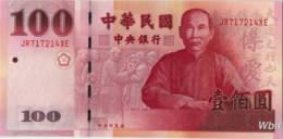 Taiwan 100 NT$ (P1998) (Pref: JR) -UNC- - Taiwan