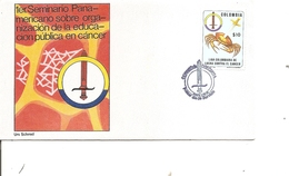 Maladies - Cancer ( FDC De Colombie De 1980 à Voir) - Enfermedades