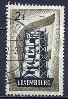 Luxembourg - Luxemburg 1956 Y&T N°514 - Michel N°555 (o) - 2f EUROPA - Gebraucht
