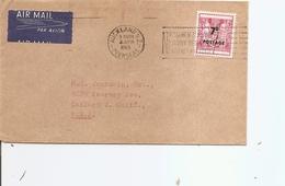 Nouvelle - Zélande ( Lettre Par Avion De 1965 De Auckland Vers Les USA à Voir) - Covers & Documents