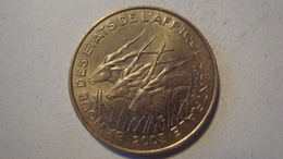 MONNAIE ETATS DE L'AFRIQUE CENTRALE 25 FRANCS 2003 - Monedas