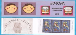 2015  EUROPA CEPT MONTENEGRO CRNA GORA OLD TOIS BOOKLET TYP III - Montenegro