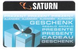 Germany - Allemagne - Saturn - Geschenk - Carte Cadeau - Carta Regalo - Gift Card - Geschenkkarte - Gift Cards