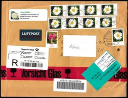 Germany - Postal History & Philatelic Cover With Registered - 626 - Brieven En Documenten