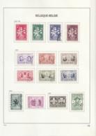 Belgie     .    10 Pagina' S Met Zegels       .      O      .       Gebruikt  .   /    .    Oblitéré - Used Stamps