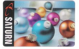 Germany - Saturn - Christmas - Weihnachten - X-mas - 3D - Carte Cadeau - Carta Regalo - Gift Card - Geschenkkarte - Gift Cards