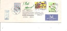Taiwan ( Lettre Par Avion De 1977 De Taipei Vers L'Autriche à Voir) - 1945-... République De Chine