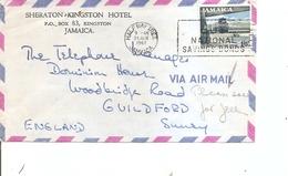 Jamaique ( Lettre De 1967 De HalfWayTree Vers La Grande-Bretagne à Voir) - Jamaica (1962-...)