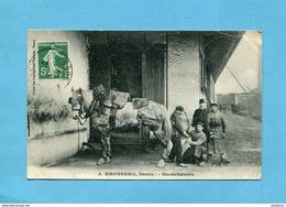 Nancy-J KRONBERG -Maréchalerie- Gros Plan Animé  -a Voyagé En 1910-édition Imp Réunies - Nancy