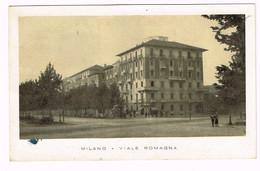 XW 2044 Milano - Viale Romagna - Annullo Centallo (Cuneo) / Viaggiata 1946 - Milano