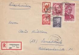 Saar R Brief 1950 - Non Classés