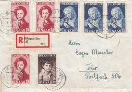 Saar R Brief 1953 - Non Classés
