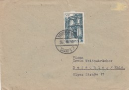 Saar Brief 1948 - Non Classés