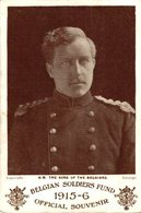 H.M. THE KING OF THE BELGIANS 1914/15 WWI WWICOLLECTION - Guerra 1914-18