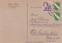 Saar Postkarte 1947 - Non Classés