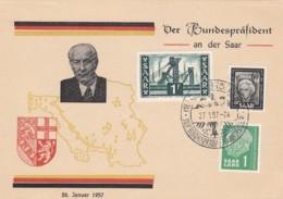 Saar Postkarte 1957 - Non Classés