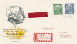 Saar FDC 1955 - Non Classés