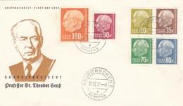 Saar FDC 1957 - Saargebiet