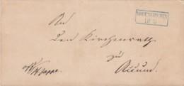 AD Oldenburg Brief 1865 - Oldenburg