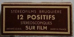 BRUGUIÈRE  STÉRÉOFILMS  : 93   CHAMONIX 1 - LE BREVENT - Stereoscopes - Side-by-side Viewers