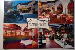 """Roma - Ristorante """"La Cuccagna"""", Via Flaminia - Trattoria - 1972 - Viaggiata - Cafés, Hôtels & Restaurants"""