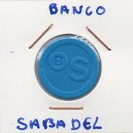 (mec) - ESPAGNE BANC DE SABADELL JETON CADDIE SUPERMARCHE - Belgium