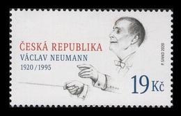 Czech Republic 2020 Mih. 1072 Music. Conductor Vaclav Neumann MNH ** - Ungebraucht