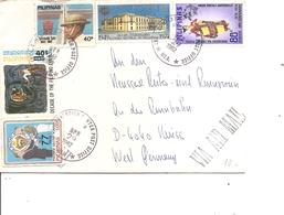 Philippines ( Lettre Par Avion De 1982 Vers L'Allemagne à Voir) - Filipinas