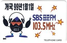 SOUTH KOREA B-463 Magnetic Telecom - Used - Korea, South