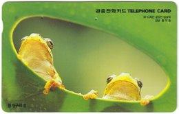 SOUTH KOREA B-473 Magnetic Telecom - Animal, Frog - Used - Korea (Zuid)