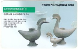 SOUTH KOREA B-487 Magnetic Telecom - Culture, Historic Craft - Used - Korea, South