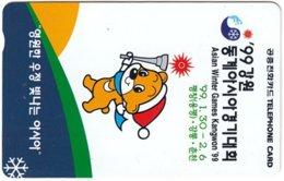 SOUTH KOREA B-499 Magnetic Telecom - Cartoon, Occasion, Christmas - Used - Korea, South