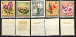 RUANDA URUNDI - 1953 - FIORI - FLOWERS - MH - 1924-44: Nuevos
