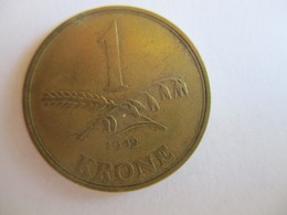 Danemark: 1 Krone 1942 - Denmark