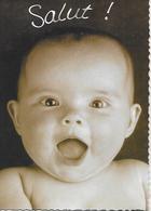 CPM - ENFANT BEBE - SALUT ! - Fantasia Photo Sunset - Misiones