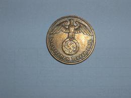 ALEMANIA- 2 PFENNIG 1936 D (933) - [ 4] 1933-1945 : Third Reich