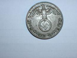 ALEMANIA- 2 PFENNIG 1936 D (934) - [ 4] 1933-1945 : Third Reich