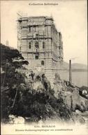 Cp Monte Carlo Monaco, Musee Oceanographique En Construction - Monaco
